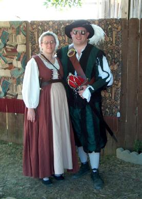 Zeke and Yolanda - Ren Faire - Sep 02